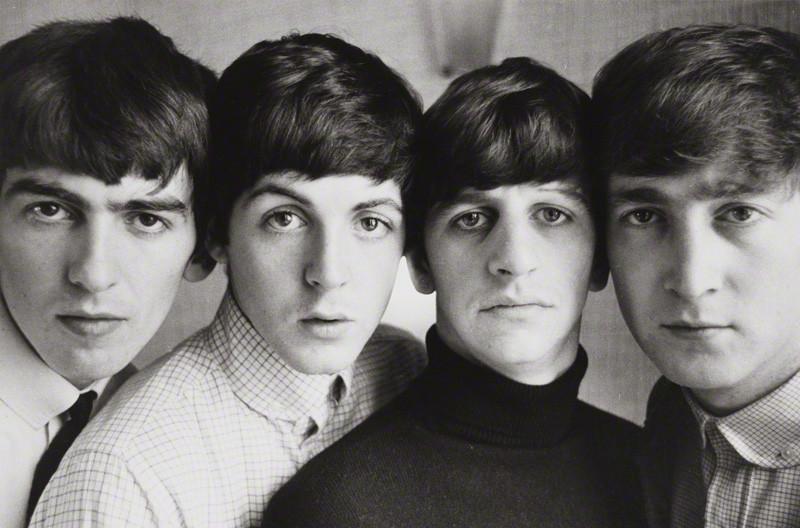 NPG x133070; The Beatles (George Harrison; Paul McCartney; Ringo Starr; John Lennon) by Norman Parkinson